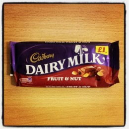 Cadbury Dairy Milk, Fruit & Nut