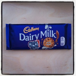 Cadbury Dairy Milk with Chips Ahoy
