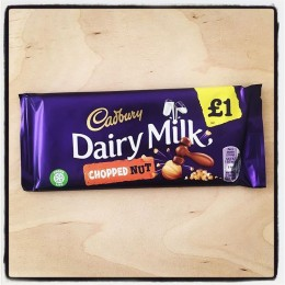 Cadbury Dairy Milk, Chopped nut