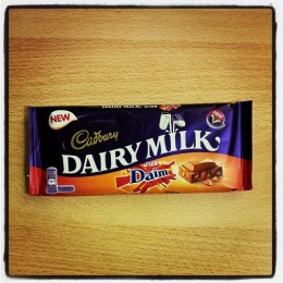Cadbury Dairy Milk with Daim