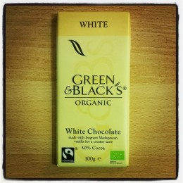 Green & Black's White