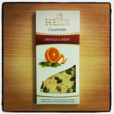 Heidi Gourmette Orange & Seeds
