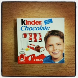 Kinder Chocolate 4 bars