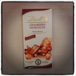 Lindt Cranberry-Hazelnuss