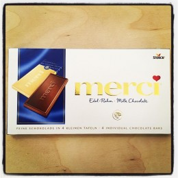 Merci Milk chocolate, 100g