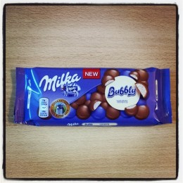 Milka Bubbly, White
