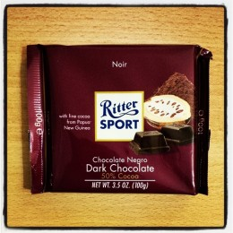 Ritter Sport Dark Chocolate, 50%