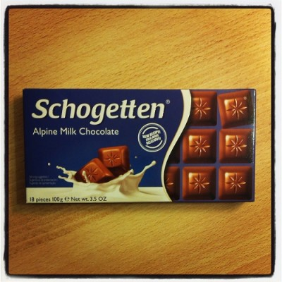 Schogetten, Alpine Milk Chocolate