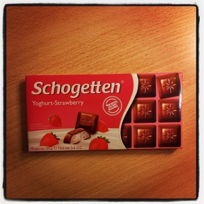 Schogetten, Yoghurt-Strawberry