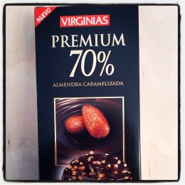 Virginias Premium 70% with Almonds