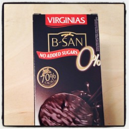 Virginias B-San 70% Dark Chocolate