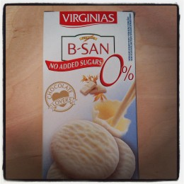 Virginias B-San White Chocolate